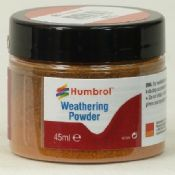 Humbrol AV0018 Light Rust Weathering Powder